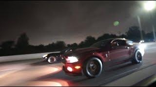 My 800HP GT500 VS PROCHARGED Corvette!! INSANE RACE