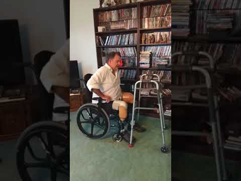 102 Learning to stand with two prostetic legs pt. 1-AKA BKA double amputee from YouTube · Duration:  4 minutes 56 seconds