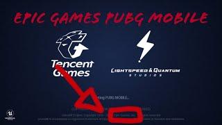 Pubg mobile es de epic games pruebas