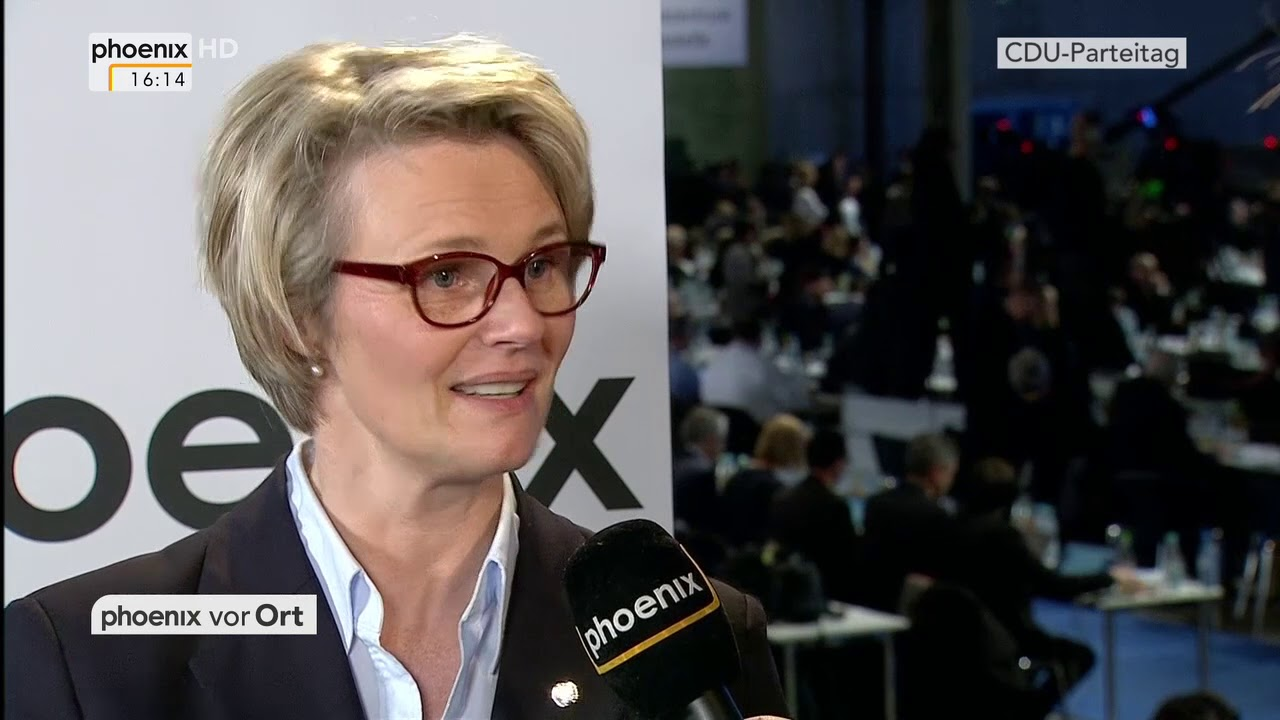 Interview Mit Anja Karliczek Beim Parteitag Der Cdu Am 260218