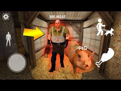 ИГРАЮ ОБНОВЛЕНИЕ МЯСНИК ГРЕННИ + НАШЕЛ БАГ - Playing Mr.Meat In Granny