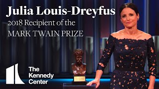 Julia Louis Dreyfus Acceptance Speech  2018 Mark Twain Prize