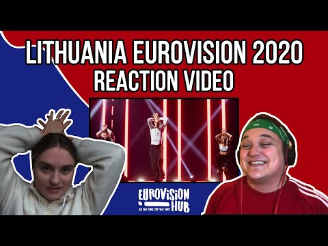 Lithuania | Eurovision 2020 Reaction Video | The Roop - On Fire