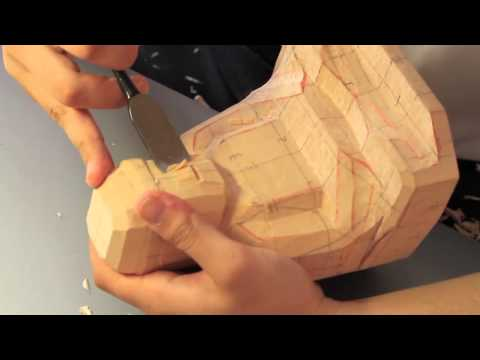 彫刻刀で楽しむ仏像PV