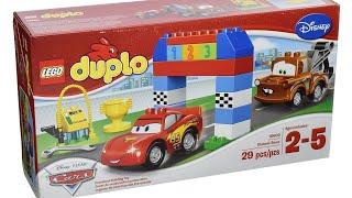 Видео обзоры LEGO Duplo Гонки на Тачках