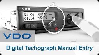 Video Digital Tachograph Manual Entry   VDO DTCO 2.2 download MP3, 3GP, MP4, WEBM, AVI, FLV Desember 2017