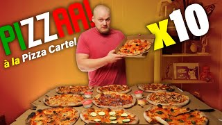 Pizza Cartel Menuhaaste! | 10 Pizzaa