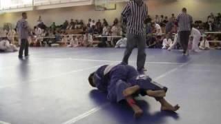 Judo kid in Brazilian Jiu jitsu tournament part 1