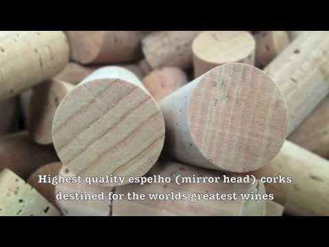 wine article The story of Cork manufacture  Amorim