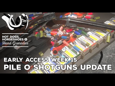 H3VR Early Access Weekly Update #15 - 4 New Shotguns, Flare gun & Tons of 12 Gauge Ammo