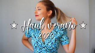 ☀️ SUPER HAUL VERANO 2020 🏝 *algunas prendas rebajadas*