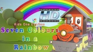 Seven Colours In A Rainbow || Nursery Rhymes For Children || KidsOne