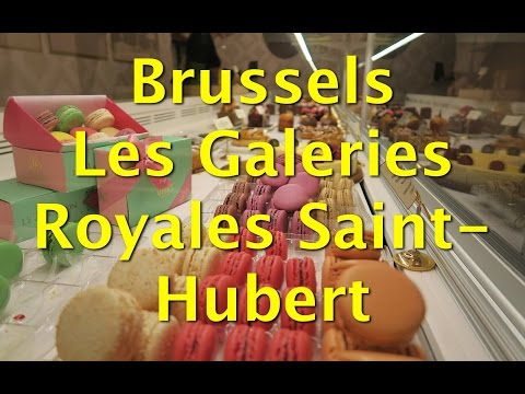 Things to do in Brussels – Stroll through Les Galeries Royales Saint-Hubert