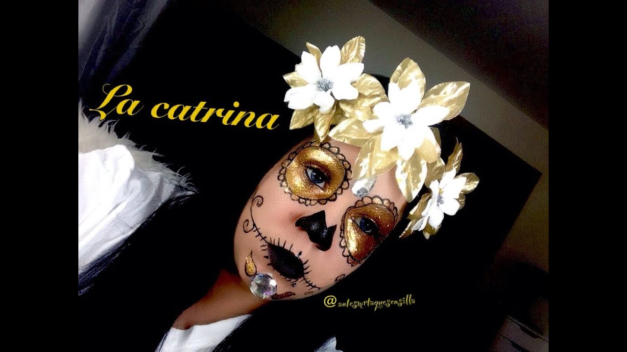 la catrina elegante colaboracion compartiendoglamour youtube. Black Bedroom Furniture Sets. Home Design Ideas