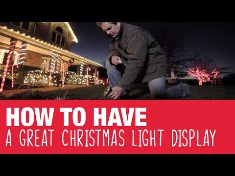 how to have a great christmas lighting display ace hardware