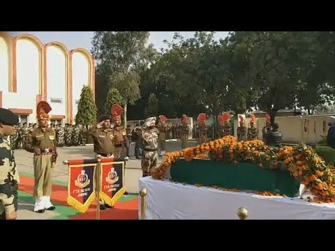 #Wreath Laying #Ceremony of #Shaheed #Rajesh Kumar #Channel1india