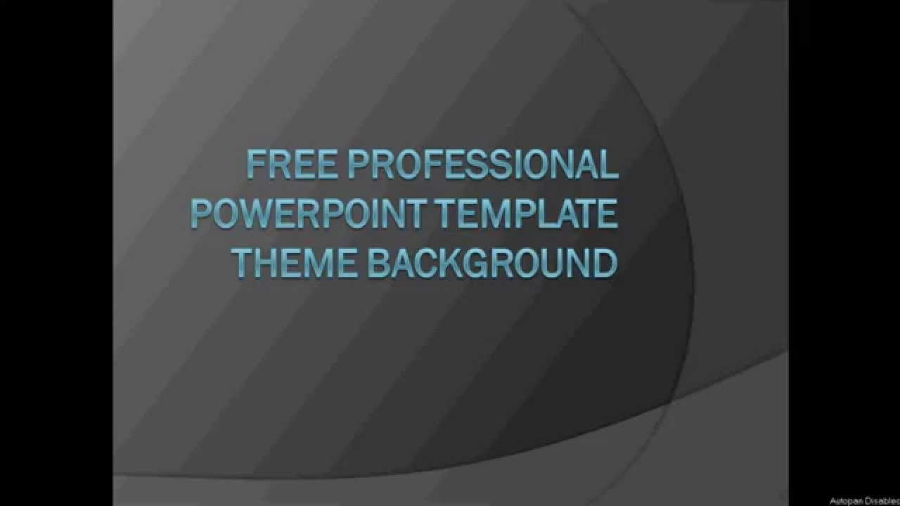 Free professional powerpoint template themes background to for Most professional powerpoint template
