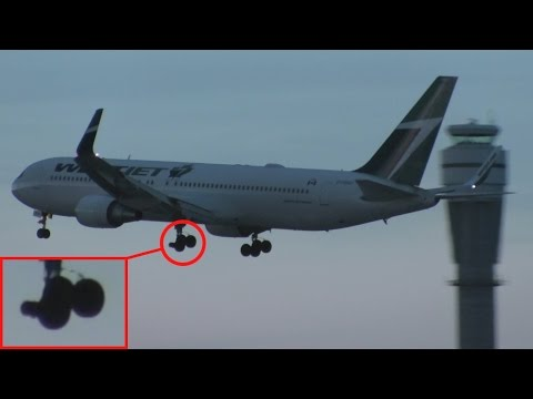 Emergency Landing! WestJet 767-338ER(WL) [C-FOGT] Low Pass, Landing, and Taxi at Calgary Airport ᴴᴰ