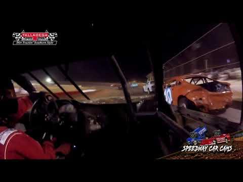 #J4 Justin Payton - HotShots - 4-27-19 Talladega Short Track - In Car Camera