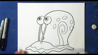 Как рисовать Гэри (Губка Боб)(рисунок Гэри (Губка Боб) Музыка (Audiomicro.com) Take Me Home Inst., 2015-10-20T21:32:07.000Z)