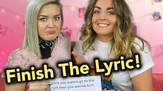 Finish The Lyric! / ANNE-MARIE Hänger med P3 Star
