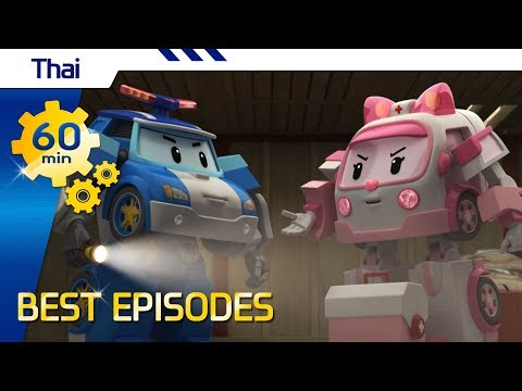 Robocar Poli |  Best episode (Thai) with Opening