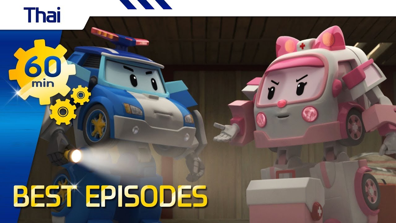 Robocar Poli    Best episode (Thai) with Opening