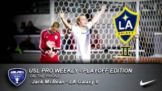 USL PRO Playoffs -- Jack McBean, LA Galaxy II