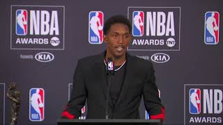 Lou Williams 17'-18' NBA 6th Man Of The Year #NBAAwards Press Conference