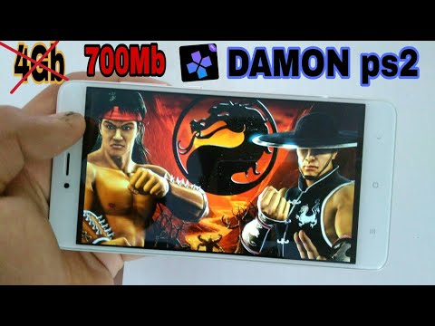 DAMON Ps2 MORTAL KOMBAT Shaolin Monks On Android DAMON Ps2 Emulator