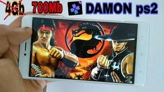 DAMON ps2 MORTAL KOMBAT Shaolin Monks on Android DAMON ps2 emulator
