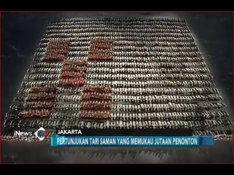MEMUKAU! Ribuan Penari Saman Hipnotis Jutaan Penonton Asian Games - iNews Pagi 19/08