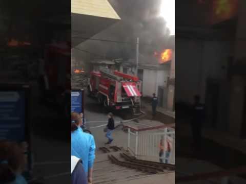 Пожар в Одинцово 23 мая
