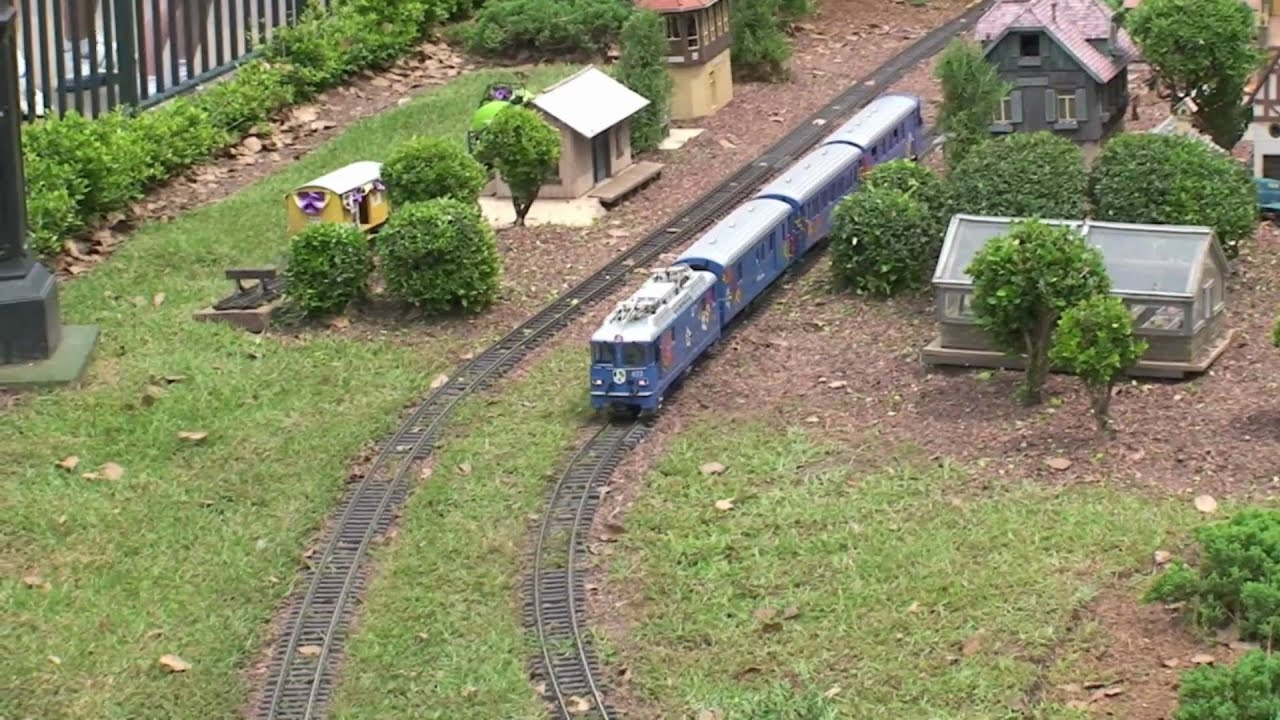 LGB Garden Railroad at Walt Disney Worlds EPCOT YouTube