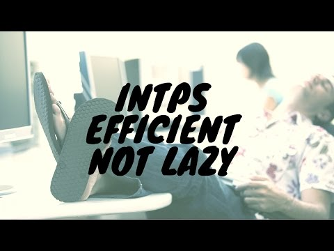 Misconceptions of INTP Laziness » Erik Thor