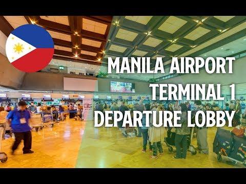Philippines[021] Manila Airport Terminal 1 Departure Lobby Renewal | マニラ国際空港 ターミナル1 2016/04/07