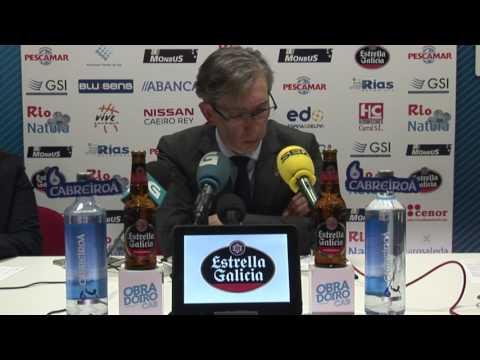 Jornada 25: Rio Natura Monbus Obradoiro - Real Madrid (post partido)