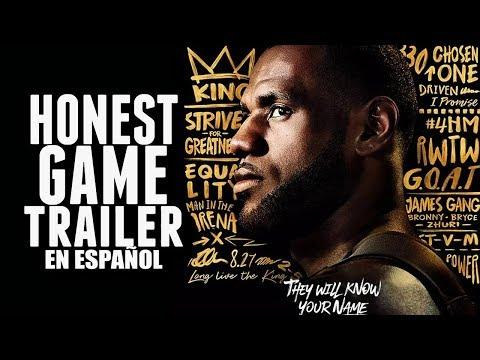 NBA 2K19 (Honest Game Trailers en Español)