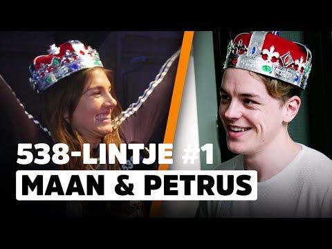 Maan & Peter de Harder worden overvallen met speciaal 538-lintje! | 538Lintjesregen #1