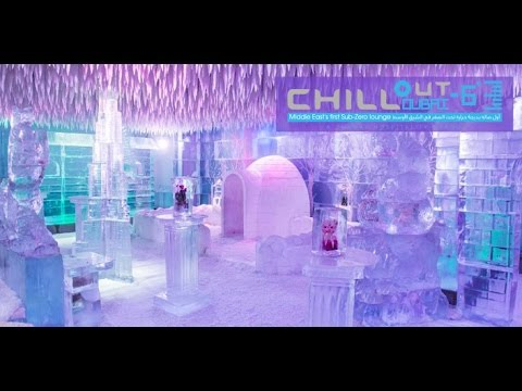 Chill Out Lounge Dubai !  Unique and Amazing  !  Time Square Center  !