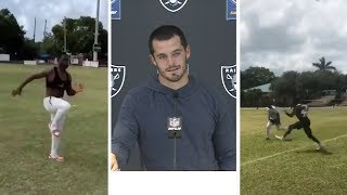 Antonio Brown WORKING For NFL Return, Derek Carr Takes Shot At AB!
