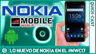 Nokia 3, 5 y 3310 se presentan en el #MWC17