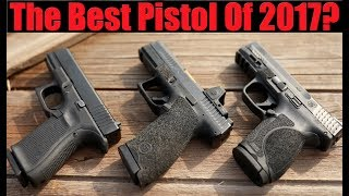 Glock 19 Gen 5 vs M&P 2.0 Compact vs CZ P10c: Best Pistol Of 2017?