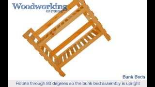 Woodworking For Everyone: Bunk Beds (construction Animation)