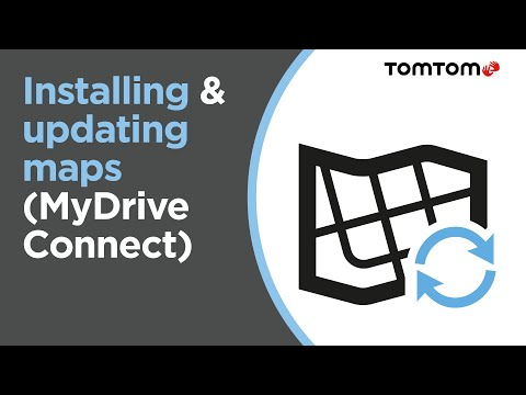 Installing & updating maps with MyDrive Connect