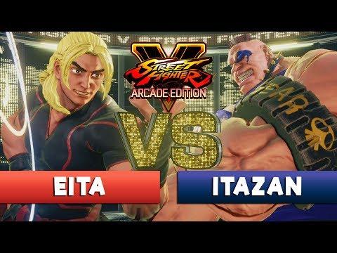 EITA [Ken] vs ITAZAN [Abigail] - FT3 - Street Fighter V Arcade Edition