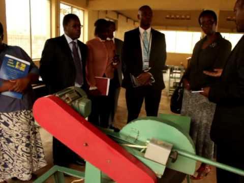URA's visit at Uganda Industrial Research Institute