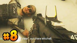 "Call of Duty ADVANCED WARFARE Walkthrough (Part 8) - Campaign Mission 8 ""SENTINEL"" (COD 2014)"