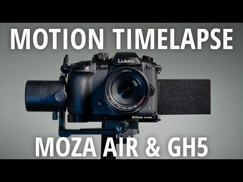 Moza Air Gimbal And GH5 Motion Timelapse Tutorial
