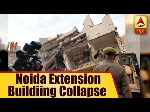 Noida Extension Buildings Collapse: 2 Male Dead Bodies Recovered, Many Feared Stuck Under Debris
